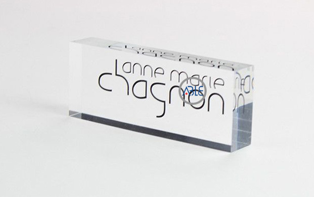 acrylic brand display