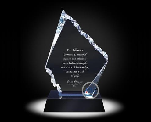 custom acrylic awards acrylic trophy