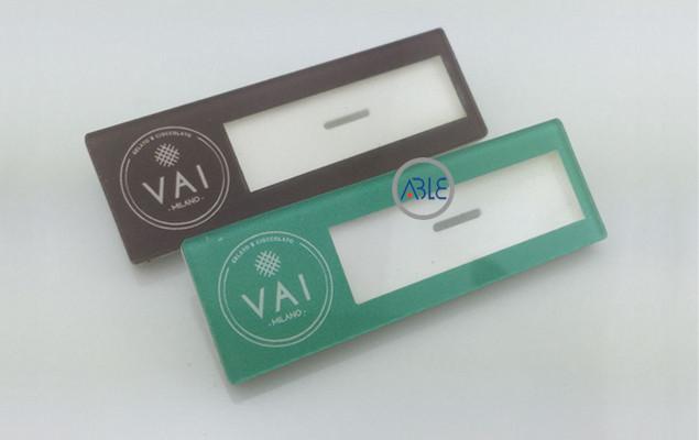 acrylic name tags