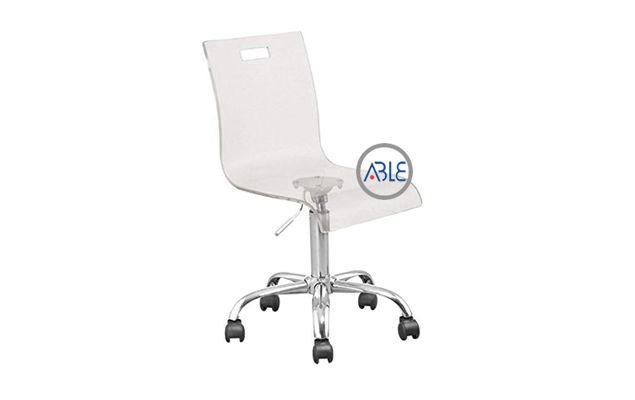 custom acrylic office chairs