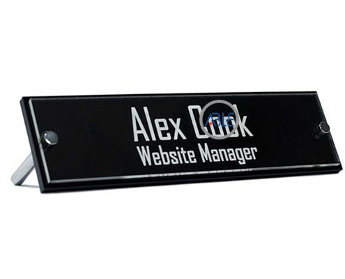 customized acrylic name plate