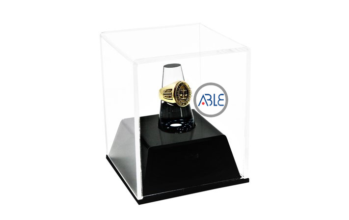 custom acrylic ring case