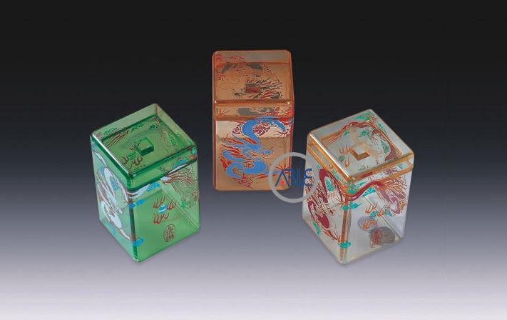 custom acrylic gift box