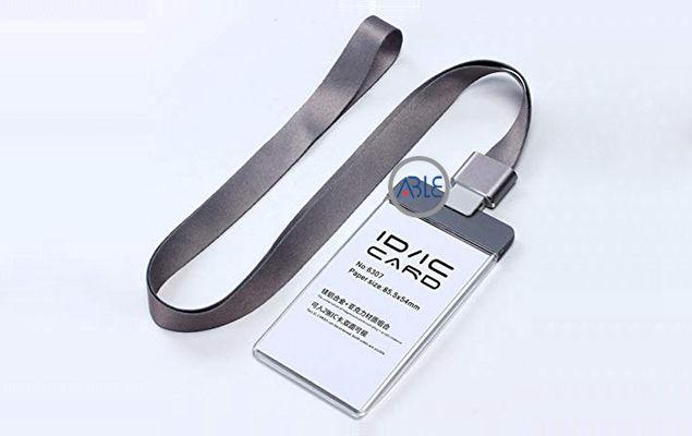 acrylic work card holder