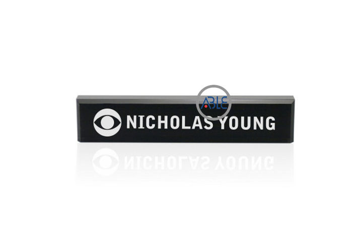 acrylic office name plates