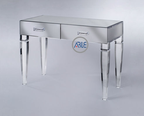 acrylic desk with drawers