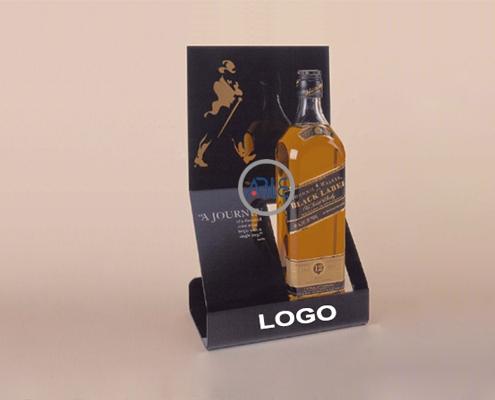 counter acrylic wine display