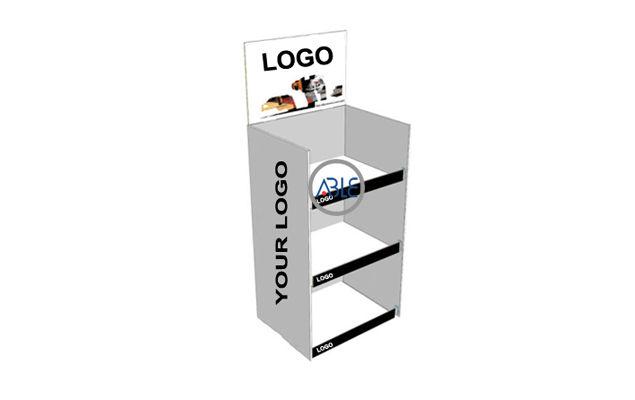 floor standing acrylic rack