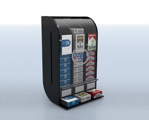 cigarettes display rack