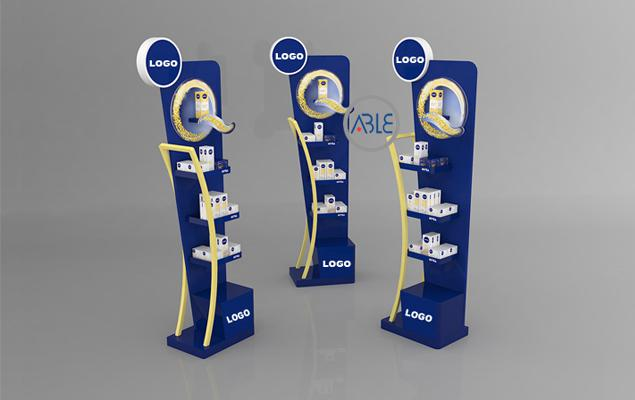 custom retail display rack