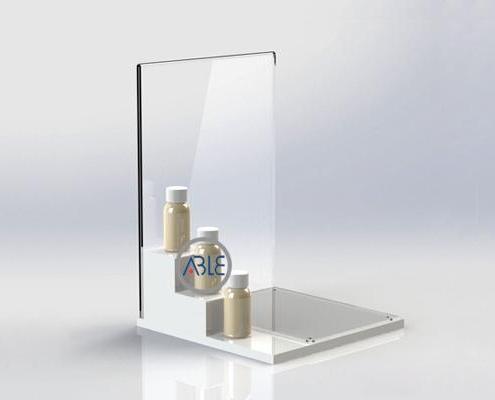 acrylic perfume display stand