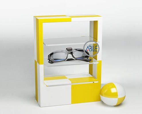 acrylic goggles display stand