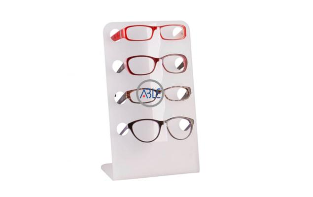 countertop acrylic sunglasses display rack