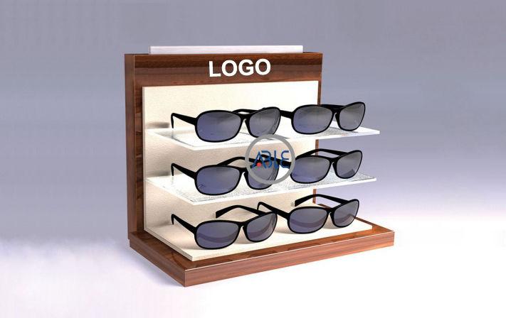 custom acrylic sunglass stand desk display