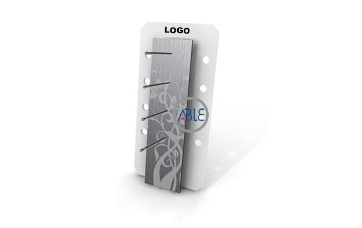 Customized counter acrylic eyewear display rack