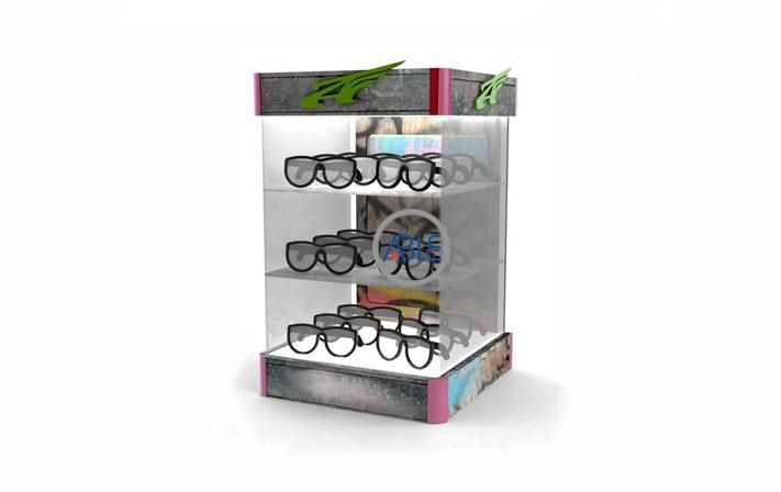 Acrylic Sunglasses Display Box