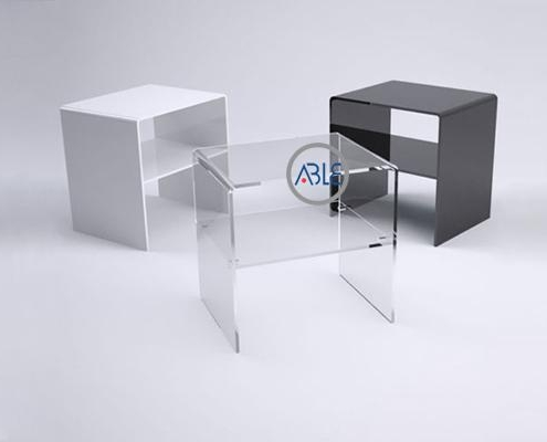Custom Square Acrylic Table Home Furniture