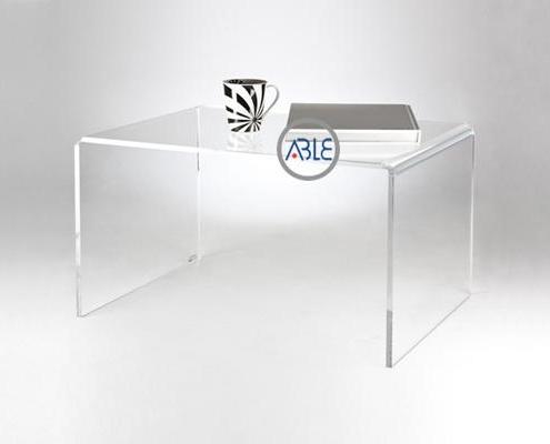 Custom study room acrylic table