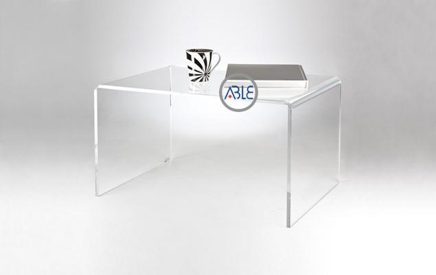 Custom study room acrylic table