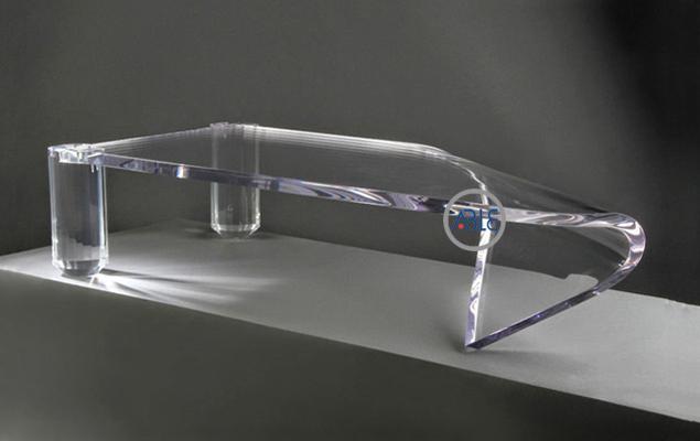 Custom acrylic tea table acrylic living room furniture