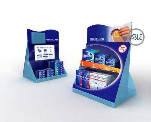 Acrylic Medicine Display Racks