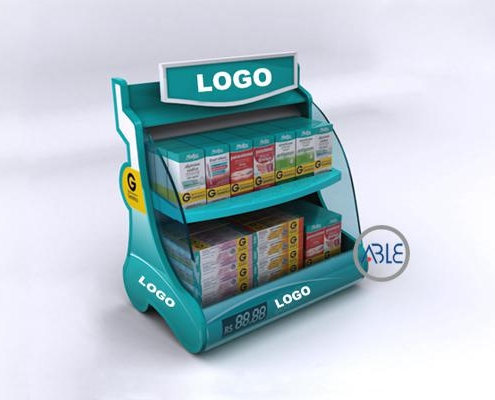 Counter retail display stand