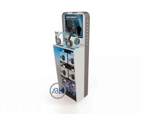 Acrylic headset stand