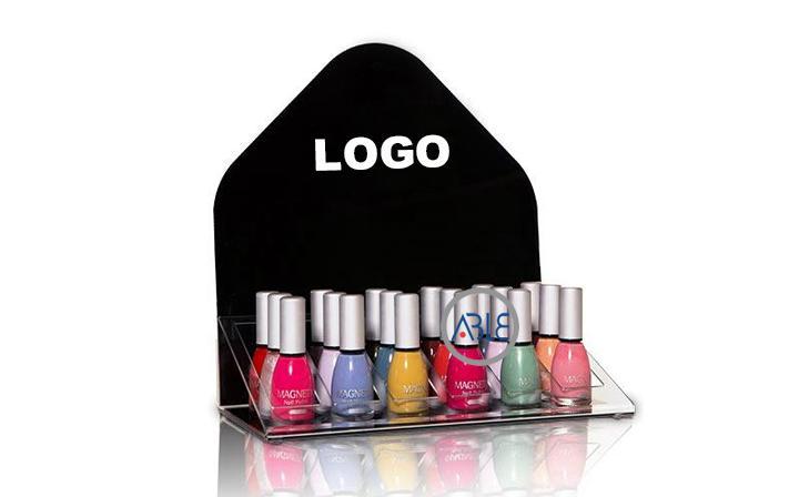 Countertop Acrylic Nail Polish Display Cosmetics Display for Bottle
