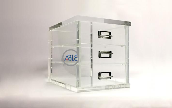 Custom Clear Acrylic Display Cabinet