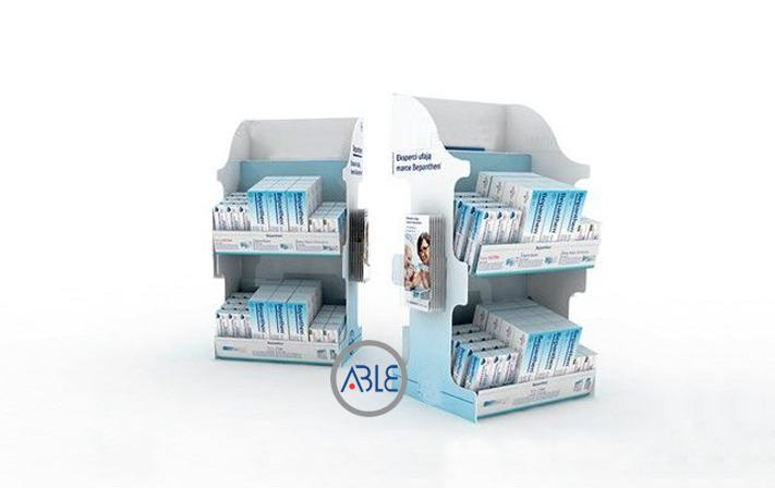 Toothpaste counter display