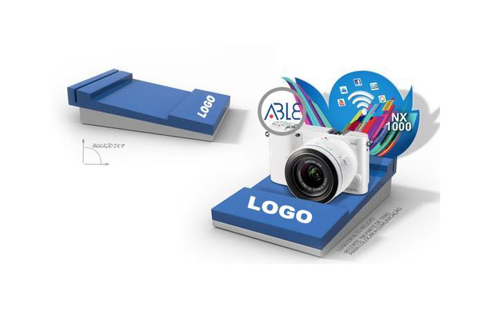 Acrylic Camera Display Rack