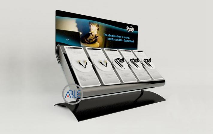 earphone display rack