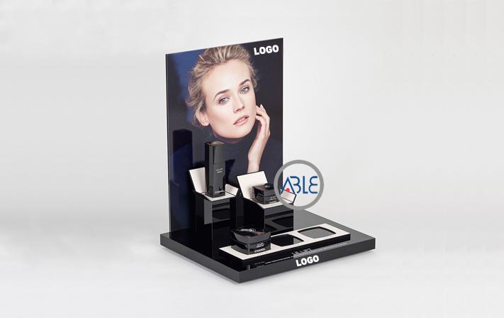 custom acrylic cosmetics display