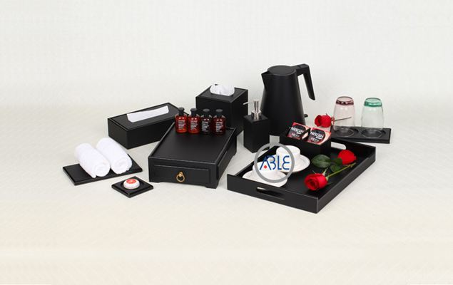 Hotel amenities supplies custom acrylic guest supplies